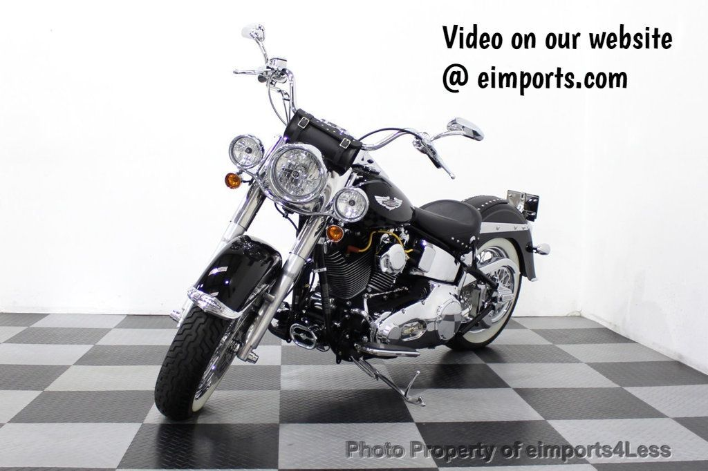 2006 Harley-Davidson FLSTN Softail Deluxe Vance and Hines Exhaust Mustang seat Floorboards - 18286914 - 0