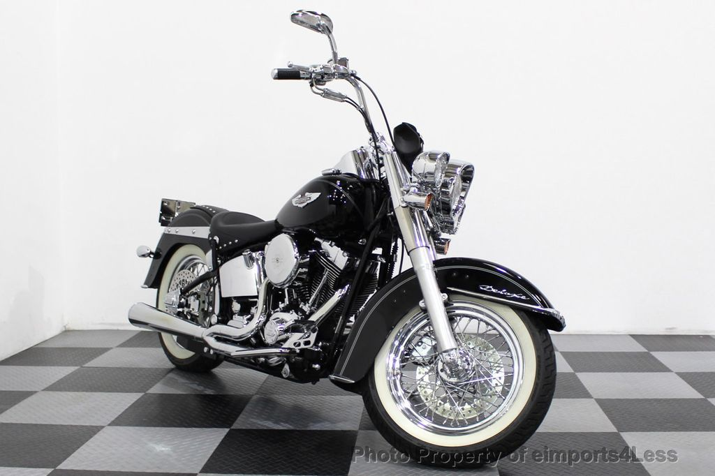 2006 Harley-Davidson FLSTN Softail Deluxe Vance and Hines Exhaust Mustang seat Floorboards - 18286914 - 34