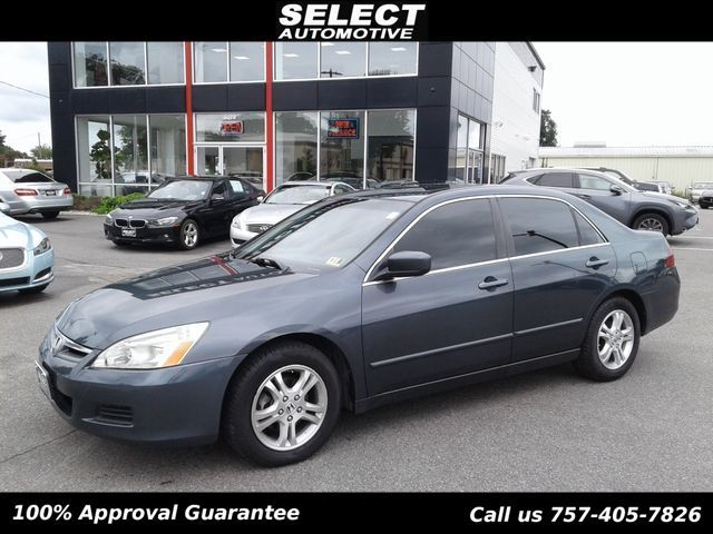 2006 Honda Accord Sedan >> 2006 Honda Accord Sedan Ex Automatic Sedan For Sale Virginia Beach Va 5 972 Motorcar Com