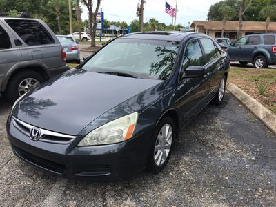 2006 Honda Accord Sedan EX-L V6 Automatic