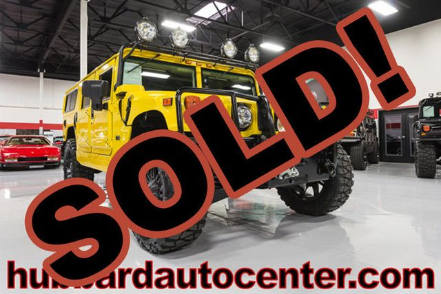 2006 HUMMER H1 1 of Only 6 Competition Yellow H1 Alpha Wagons Produced!