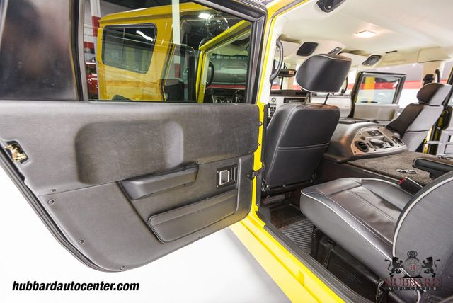 2006 HUMMER H1 1 of Only 6 Competition Yellow H1 Alpha Wagons Produced!  - Click to see full-size photo viewer