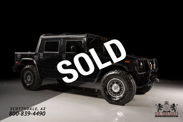 2006 HUMMER H1 4-Passenger Open Top