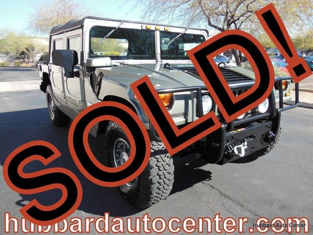 2006 HUMMER H1 4-Passenger Open Top Alpha