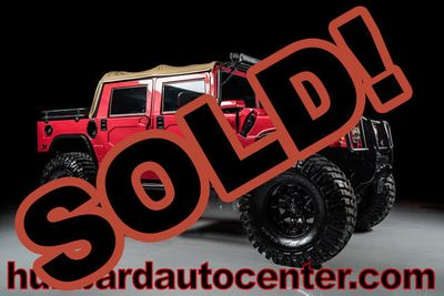 2006 HUMMER H1 4-Passenger Open Top Alpha Fully Custom Truck