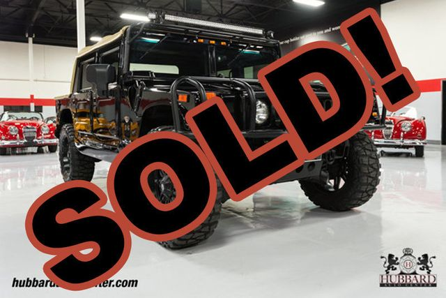 "2006 HUMMER H1 Fully Custom Alpha, Nav, 22"" Wheels, 37"" Tires, LED Lights!!!"