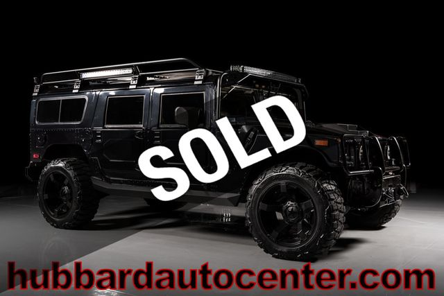 2006 HUMMER H1 Fully custom inside and out, BMW seats, amazing custom
