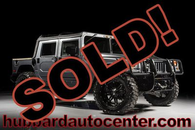 2006 HUMMER H1 Fully Custom, Rare Generation 2 All Black Interior SUV
