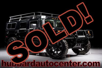2006 HUMMER H1 Rare and hard to find black Alpha wagon SUV