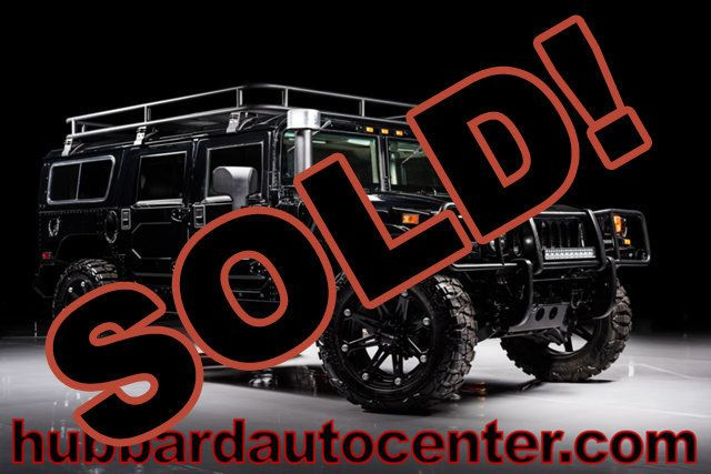 2006 HUMMER H1 Rare and hard to find black Alpha wagon