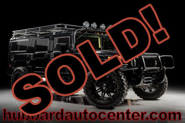 2006 HUMMER H1 Very Rare, 1 of Only 5 Gloss Black KSCS Wagons Produced!  - Click to see full-size photo viewer