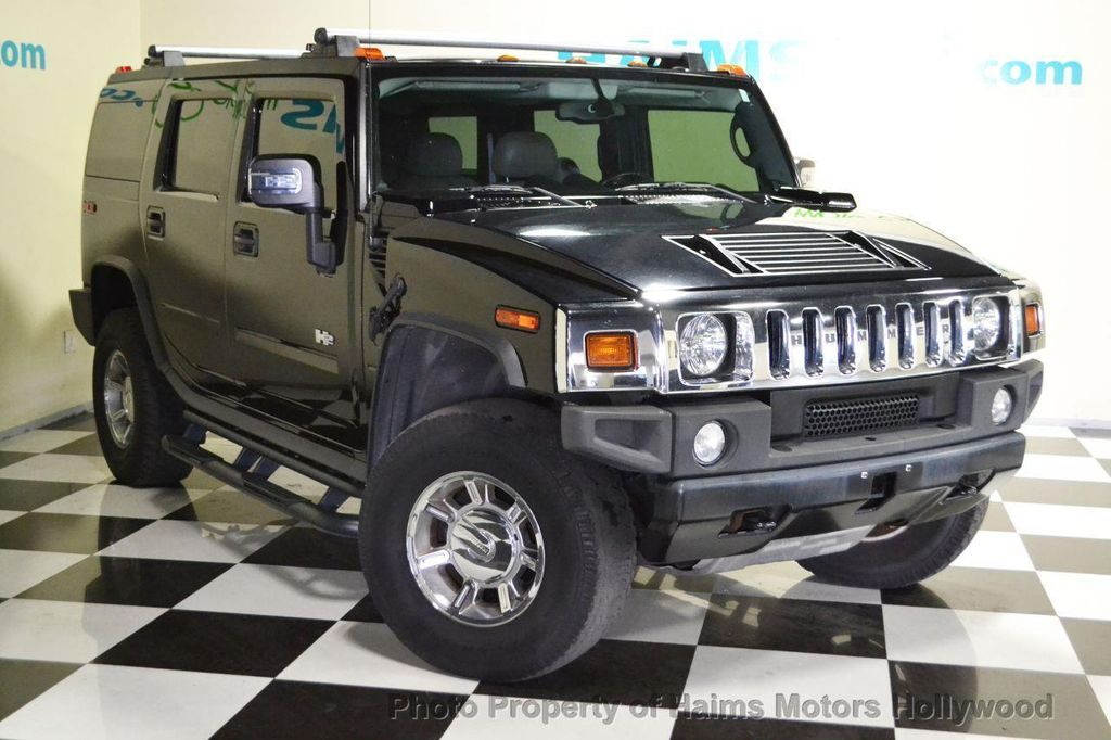 2006 used hummer h2 4dr wagon 4wd suv at haims motors serving fort lauderdale hollywood miami. Black Bedroom Furniture Sets. Home Design Ideas