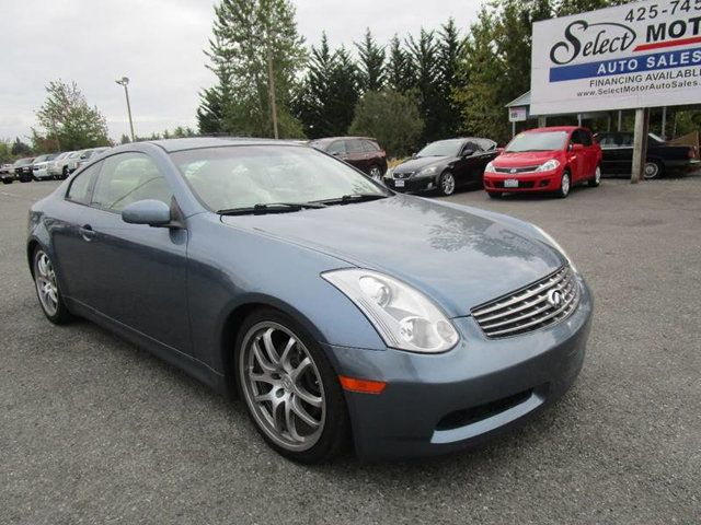2006 Infiniti G35 Coupe 2dr Coupe Manual Coupe For Sale border=