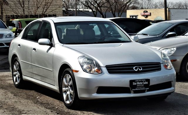 2006 INFINITI G35 Sedan G35x 4dr Sedan AWD Automatic - Click to see full-size photo viewer