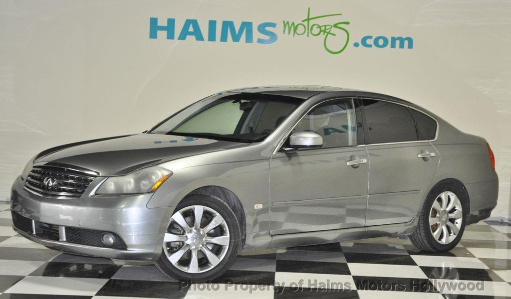 2006 Used Infiniti M35 4dr Sedan At Haims Motors Serving Fort