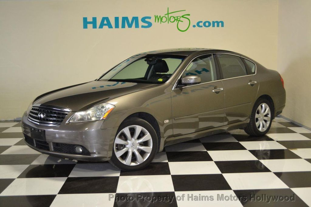 2006 Used Infiniti M35 4dr Sedan Awd At Haims Motors Serving Fort