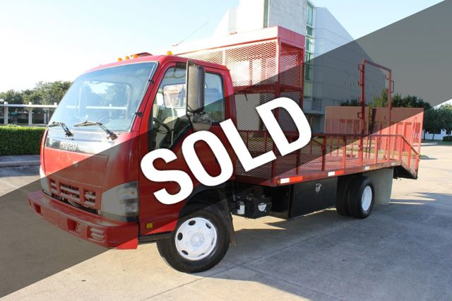 2006 Isuzu NPR NPR FLATBED MULTI-PURPOSE BOX TRUCK