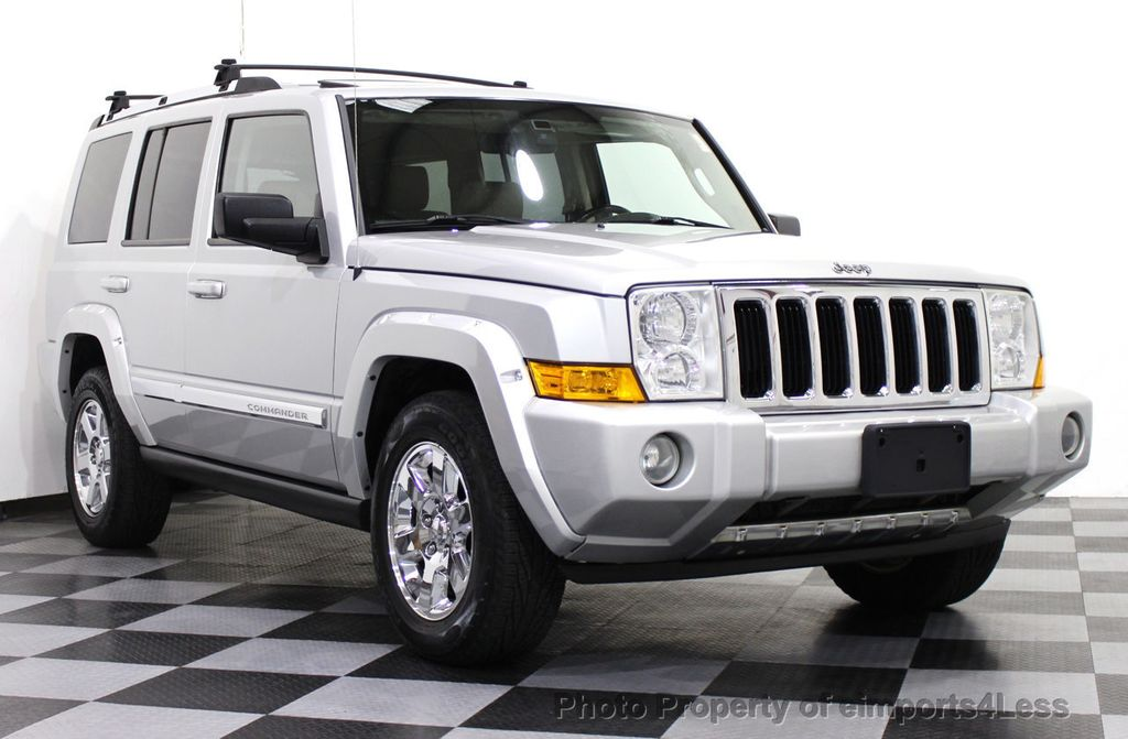 2006 Used Jeep Commander 4wd 5 7l V8 Limited Hemi 3rd Row Dvd