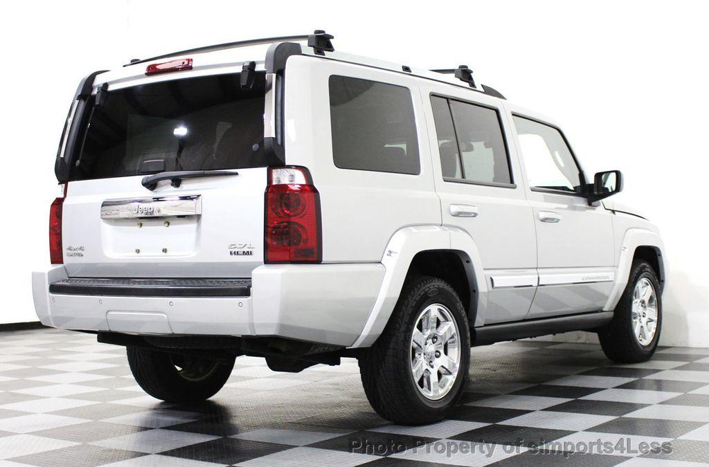 2006 Used Jeep Commander 4wd 5 7l V8 Limited Hemi 3rd Row