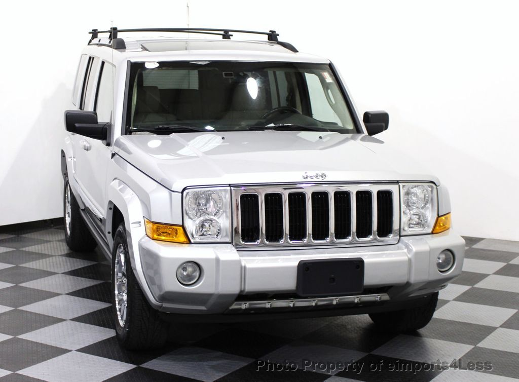 2006 used jeep commander 4wd 5 7l v8 limited hemi 3rd row dvd navigation at eimports4less. Black Bedroom Furniture Sets. Home Design Ideas