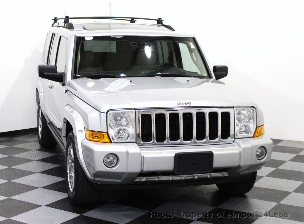 2006 used jeep commander 4wd 5 7l v8 limited hemi 3rd row dvd navigation at eimports4less. Black Bedroom Furniture Sets. Home Design Ideas