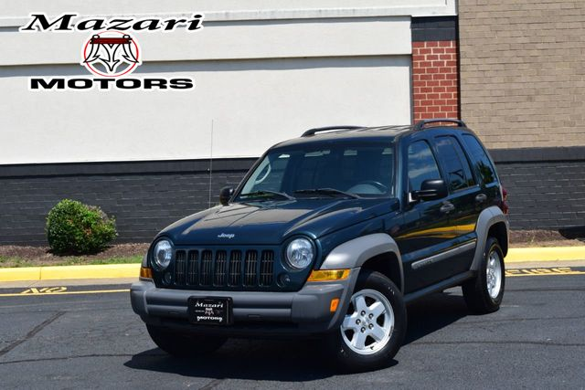 2006 Jeep Liberty Sport >> 2006 Used Jeep Liberty 4dr Sport At Mazari Motors Serving