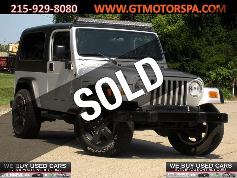 2006 Jeep Wrangler 2dr Unlimited LWB - 19182422 - 0
