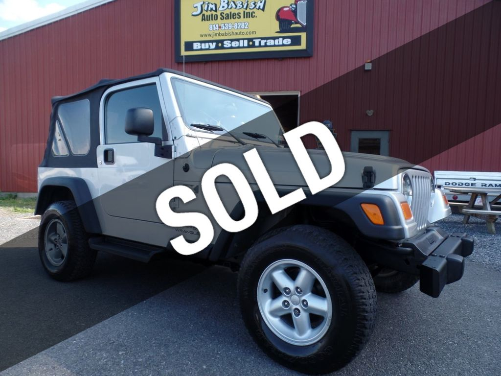 Buy Jeep Wrangler >> 2006 Used Jeep Wrangler 2dr X At Jim Babish Auto Sales Inc Serving Johnstown Pa Iid 19025691