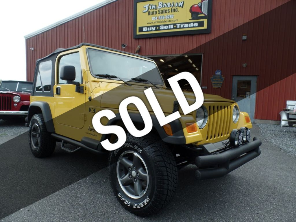 Buy Jeep Wrangler >> 2006 Used Jeep Wrangler 2dr X At Jim Babish Auto Sales Inc Serving Johnstown Pa Iid 19272954