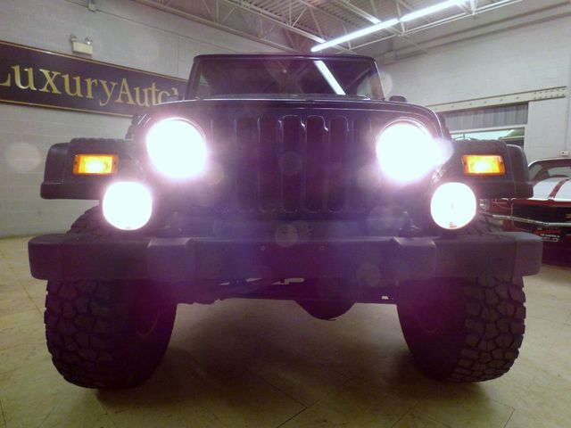 2006 Jeep Wrangler 35 inch tires new track bars 6 inch lift kit SLIP JOINT ELIM loc - Click to see full-size photo viewer