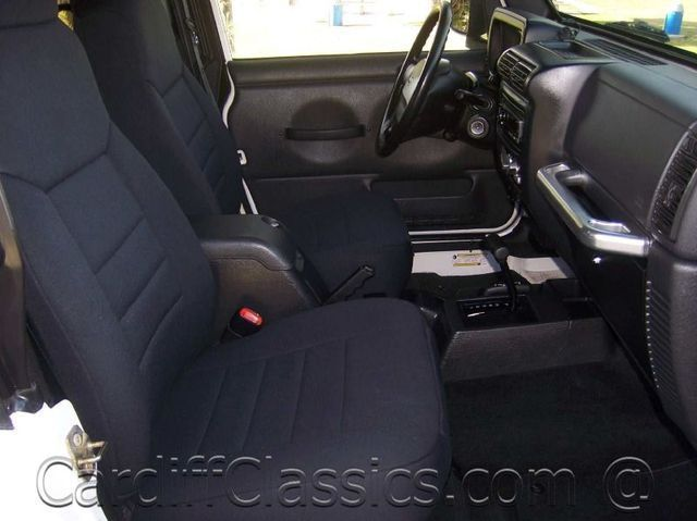 2006 Used Jeep Wrangler Unlimited At Cardiff Classics