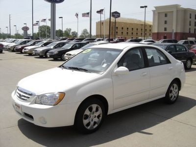 2006 used kia spectra lx at witham auto center serving. Black Bedroom Furniture Sets. Home Design Ideas