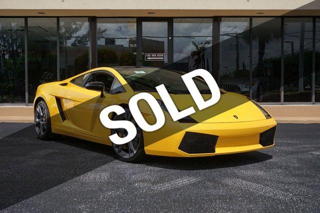 2006 Lamborghini Gallardo Se Coupe For Sale Miami Fl 149 900