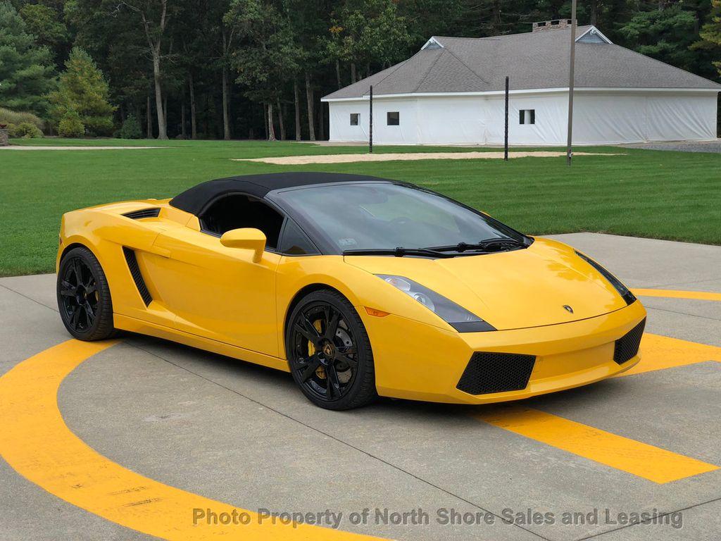 2006 Lamborghini Gallardo Spyder 520hp For Sale Fort Lauderdale Fl