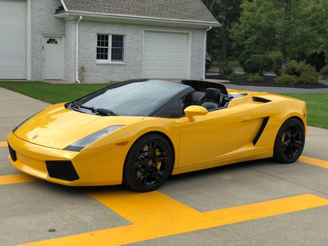 2006 Used Lamborghini Gallardo Spyder 520hp At North Shore Sales And