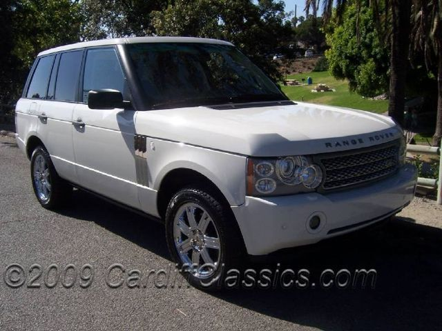 2006 used land rover range rover hse at cardiff classics. Black Bedroom Furniture Sets. Home Design Ideas