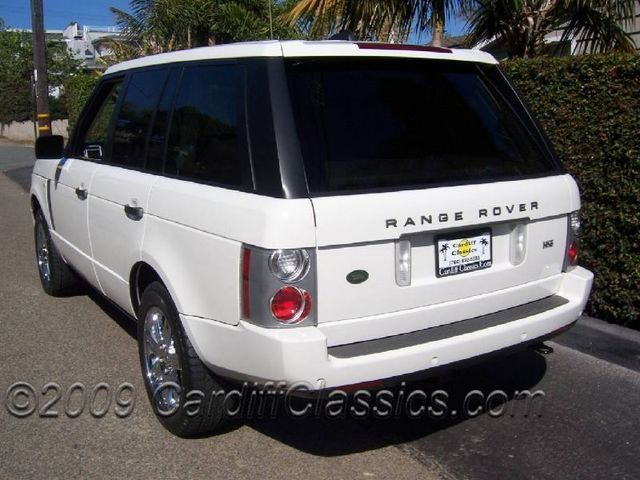 2006 used land rover range rover hse at cardiff classics serving encinitas iid 4341127. Black Bedroom Furniture Sets. Home Design Ideas