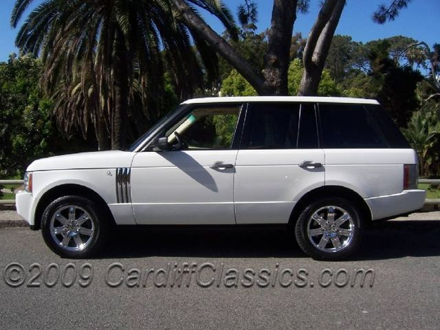 Used Range Rover >> 2006 Used Land Rover Range Rover Hse At Cardiff Classics Serving