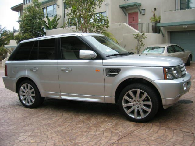 2006 used land rover range rover sport supercharged at sports car company inc serving la jolla. Black Bedroom Furniture Sets. Home Design Ideas