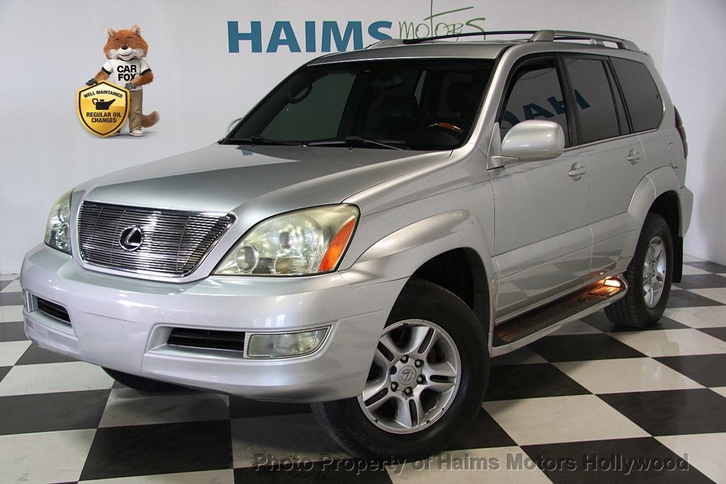 2006 used lexus gx 470 4dr suv 4wd at haims motors serving fort lauderdale hollywood miami fl. Black Bedroom Furniture Sets. Home Design Ideas