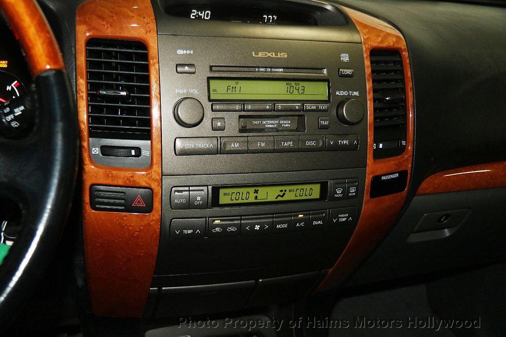 2006 Lexus GX 470 4dr SUV 4WD - 17263799 - 22