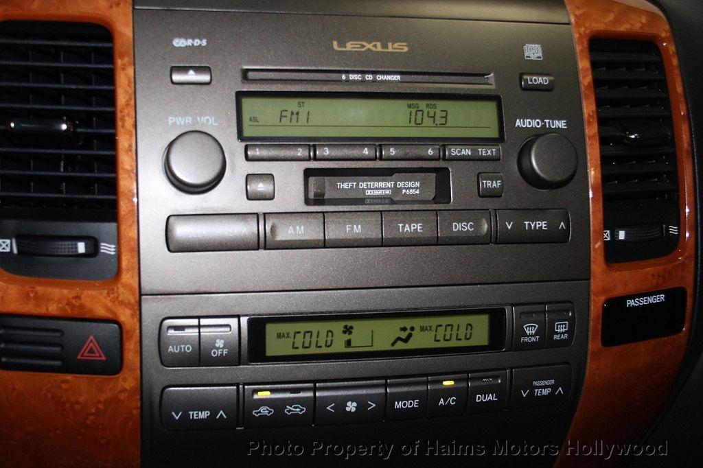 2006 Lexus GX 470 4dr SUV 4WD - 17263799 - 23