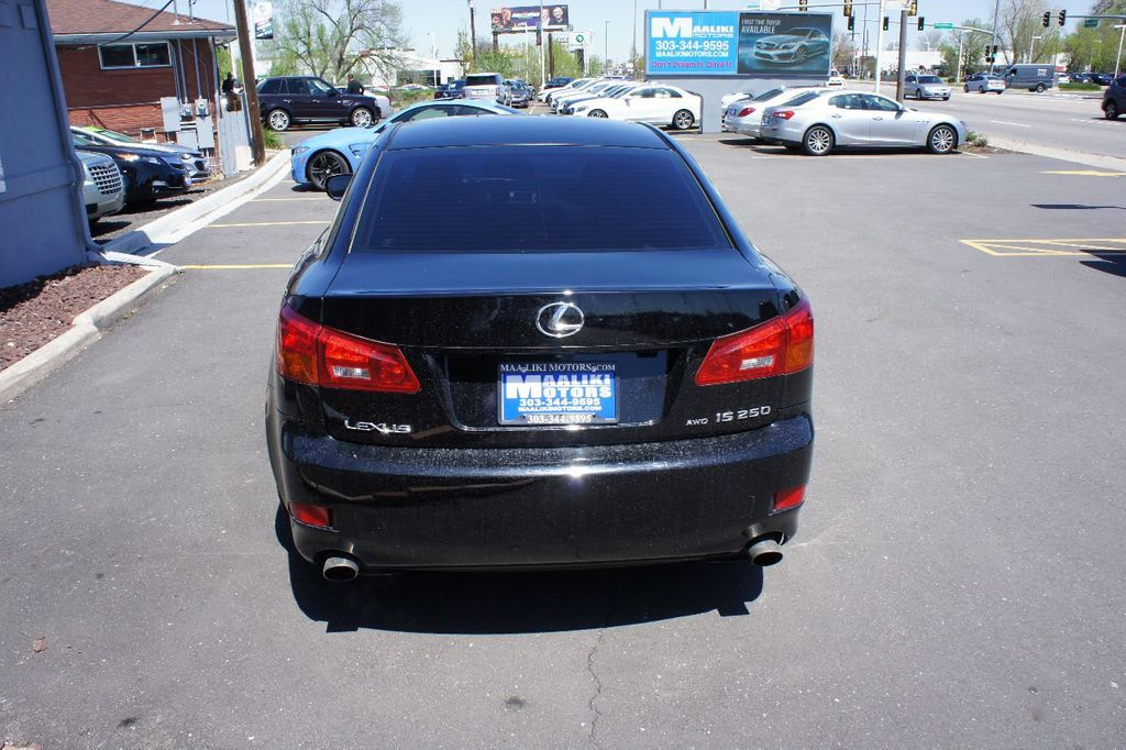 2006 Lexus IS 250 4dr Sport Sedan AWD Automatic - 17567327 - 4