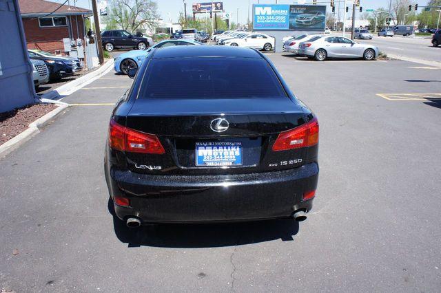 2006 Used Lexus IS 250 4dr Sport Sedan AWD Automatic at Maaliki Motors  Serving Aurora, Denver, CO, IID 17567327