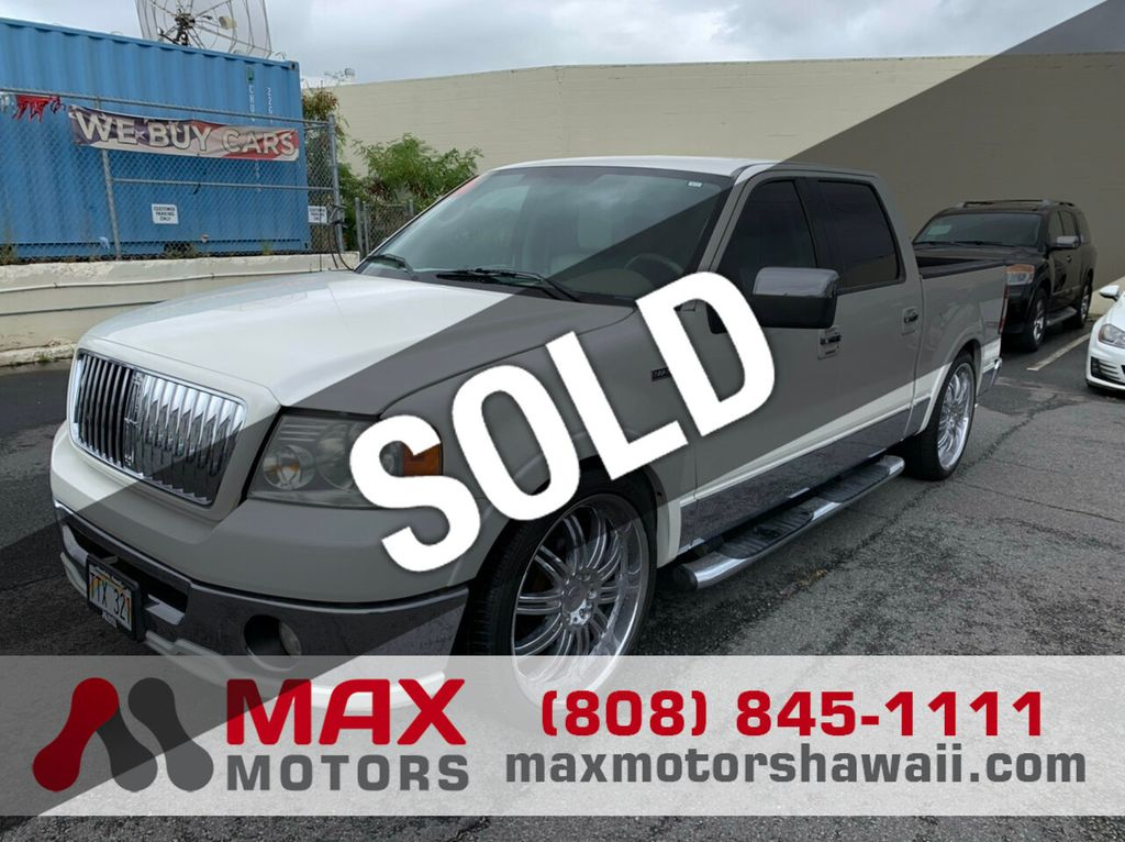 2006 Lincoln Mark Lt 2wd Supercrew 139 Truck Crew Cab Short Bed