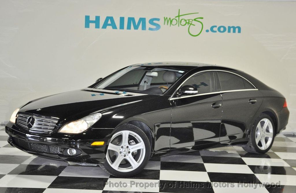 2006 used mercedes benz cls class cls500 4dr coupe 5 0l at. Black Bedroom Furniture Sets. Home Design Ideas