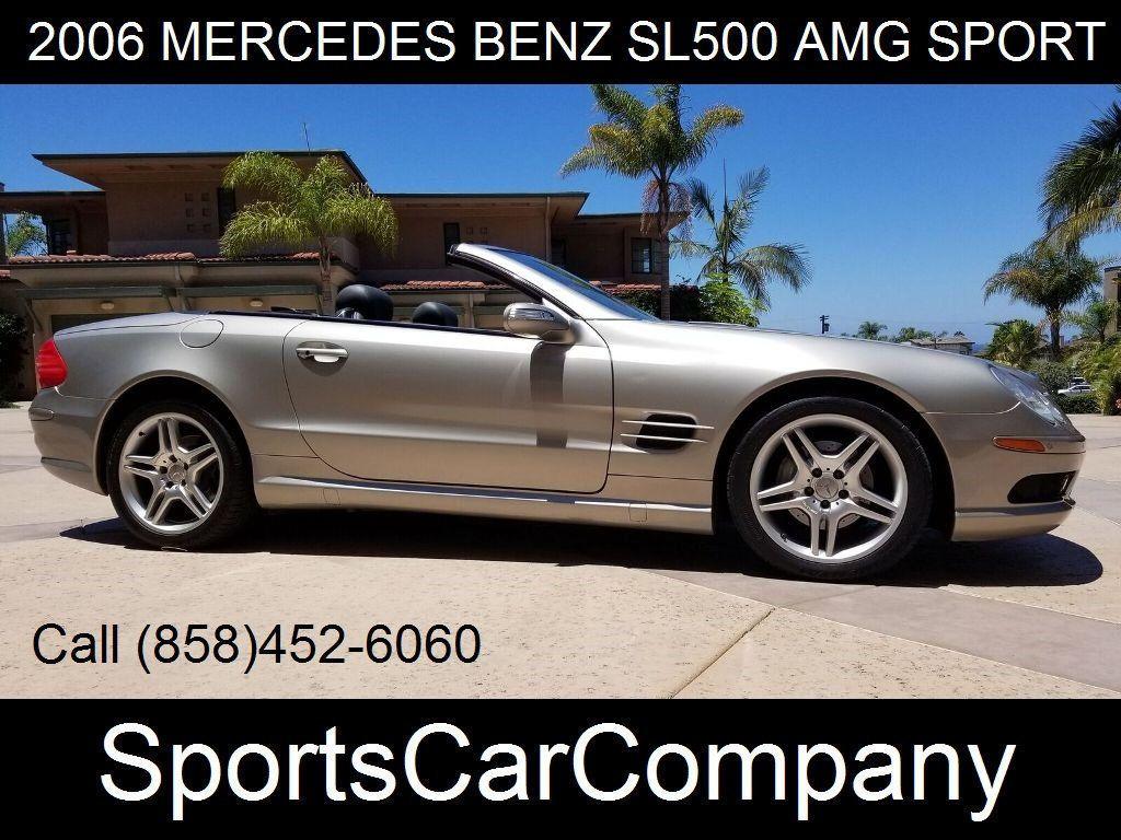 2006 Mercedes-Benz SL500 AMG SPORT PKG  - 17819462 - 0