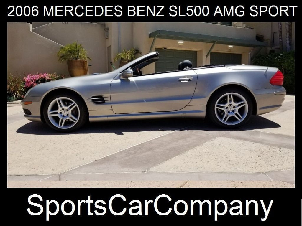 2006 Mercedes-Benz SL500 AMG SPORT PKG  - 17819462 - 1