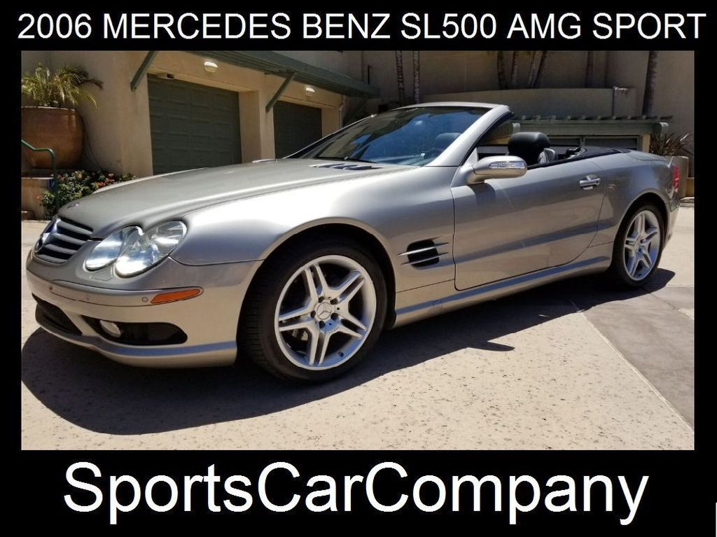 2006 Mercedes-Benz SL500 AMG SPORT PKG  - 17819462 - 2