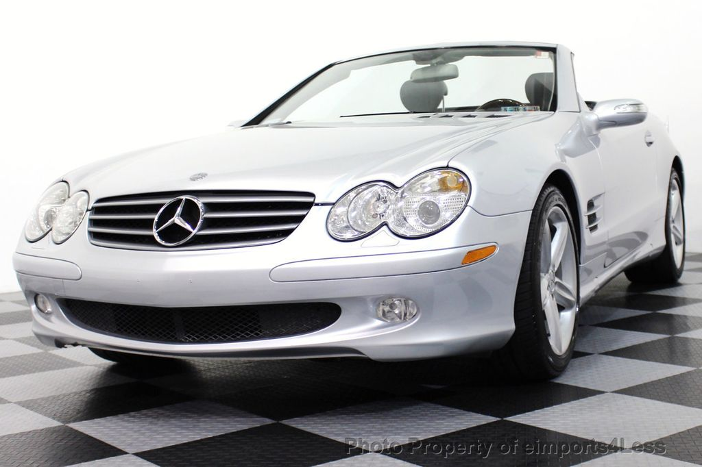2006 used mercedes benz sl class sl500 2dr roadster 5 0l for Mercedes benz sl class sl500